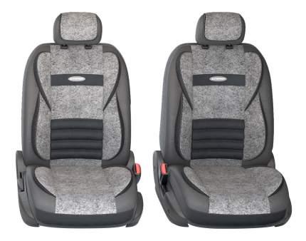 Комплект чехлов на сиденья Autoprofi Multi Comfort MLT-1105GV BK/D.GY (M)
