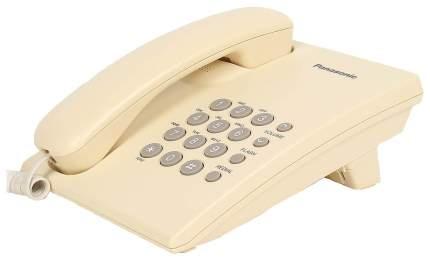 Проводной телефон Panasonic KX-TS2350RUJ бежевый