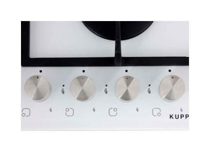 Встраиваемая варочная панель газовая KUPPERSBERG FQ6TG W White