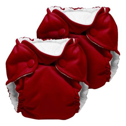 Многоразовые подгузники Kanga Care Lil Joey Scarlet (2-7 кг), 2 шт.