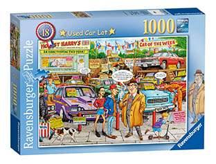 Пазл Ravensburger Рынок подержанных авто 1000 деталей