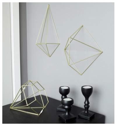 Декор для стен Umbra Prisma латунь 470520-221 Золотистый
