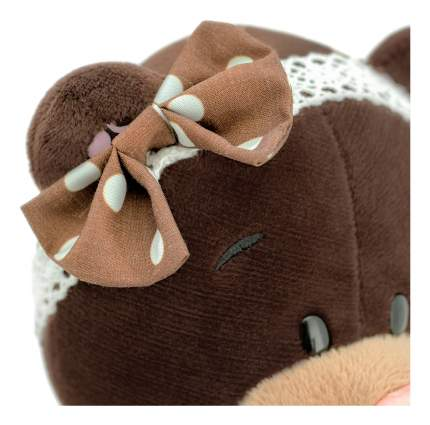 Мягкая игрушка Orange Toys Медведь milk стоячая в платье в горох 30 см М5052/30