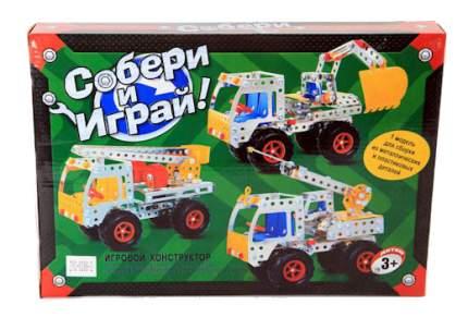 Конструктор металлический Zhorya Машина техслужбы