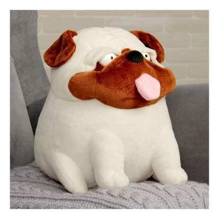 Мягкая игрушка Играмир Собака, Мопс 23 см