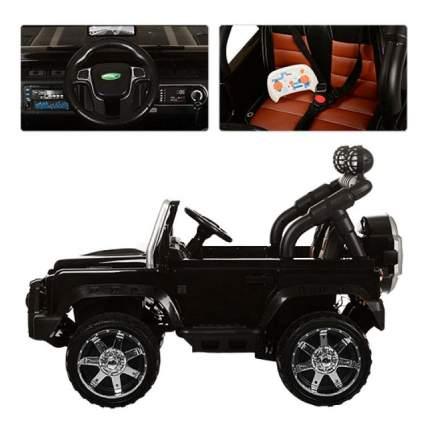 Электромобильвнедорожник черный Baby Carrier DK-F008ALB-RC