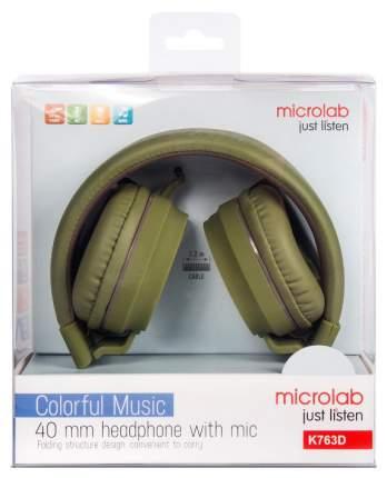 Наушники Microlab K763D Green