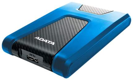 Внешний диск HDD ADATA DashDrive Durable 2TB Blue/Black (AHD650-2TU31-CBL)