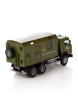 Грузовик военный со светом и звуком, Открываются Двери и Кузов 9119D