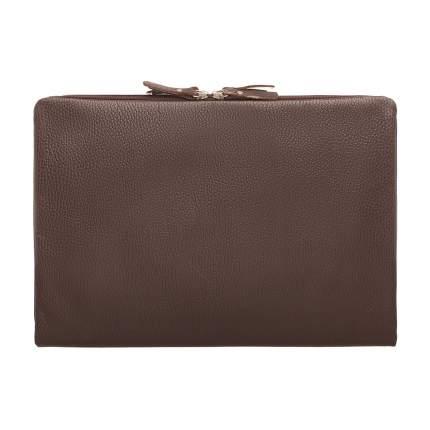 Папка для документов кожаная Lakestone Glenwood коричневая