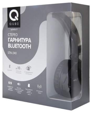 Беспроводные наушники W.O.L.T. QUB STN-240 Black
