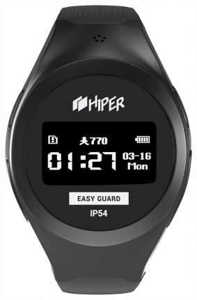 Детские смарт-часы Hiper EasyGuard Black/Black (EG-01BLK)