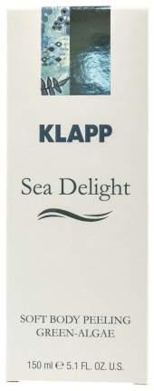 Скраб для тела Klapp Soft Body Peeling Green-Algae 150 мл