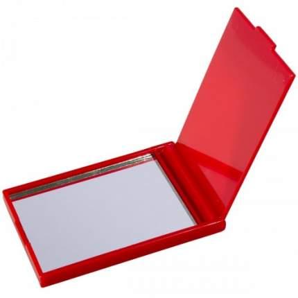 Зеркальце карманное VS красное