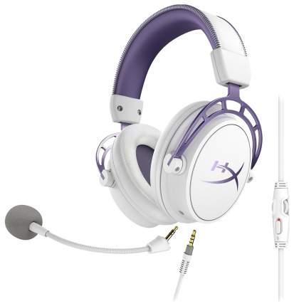 Игровые наушники HyperX Cloud Alpha Purple Edition