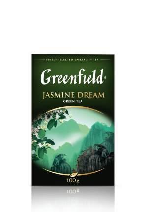 Чай зеленый Greenfield листовой jasmine dream 100 г