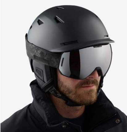 Горнолыжный шлем Salomon Sight 2019, черный, L