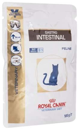Влажный корм для кошек ROYAL CANIN Gastro Intestinal, мясо, 12шт по 100г