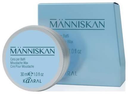 Воск для усов Kaaral Manniskan Moustache Wax 30 мл