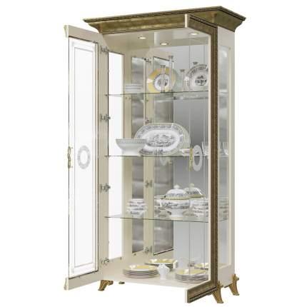 Платяной шкаф Мэри-Мебель Версаль ГВ-02 1073055 107х48х201, слоновая кость