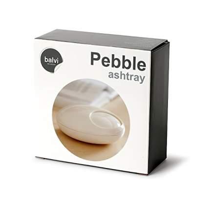 Пепельница Pebble белая