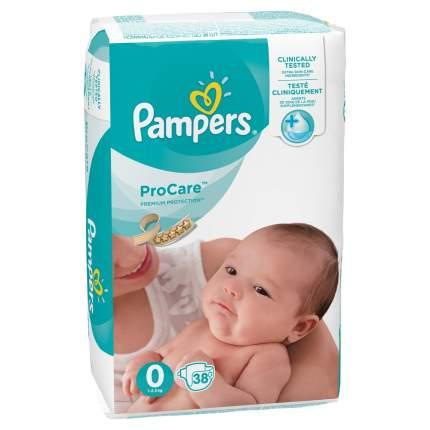 Подгузники Pampers ProCare для новорожденных 1-2.5 кг 38 шт.