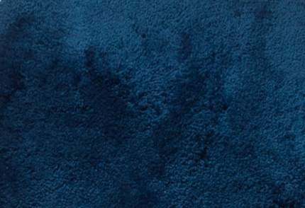 Коврик для ванной комнаты Palma синий/голубой (с вырезом) 55*49