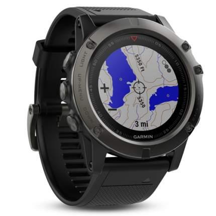 Смарт-часы Garmin Fenix 5X черные