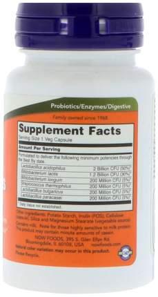Для пищеварения NOW Acidophilus 4x6 60 капсул