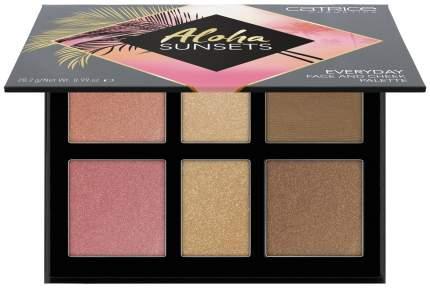 Хайлайтер Catrice Aloha Sunsets Everyday Face And Cheek Palette 28,2 г