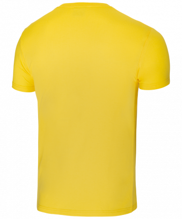 Футболка мужская Jogel JCT-5202-041, желтые/белые, XXL INT