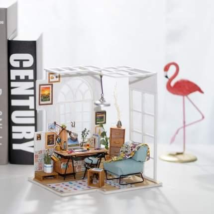 Деревянный 3d пазл дома миниатюры домашний офис Gratwest Р94221
