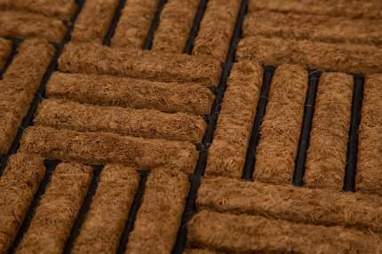 Коврик придверный PARQUET кокосовый 75x45 см