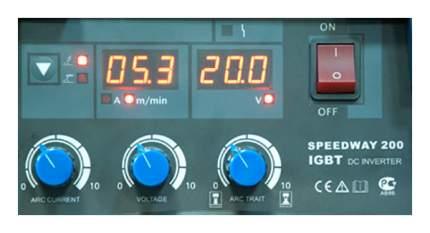Сварочный полуавтомат инвертор Aurora PRO SPEEDWAY 200