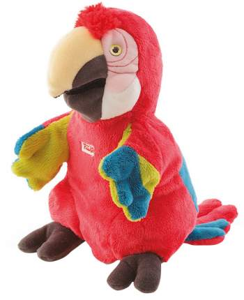 Мягкая игрушка Trudi игрушка на руку Попугай, 25 см