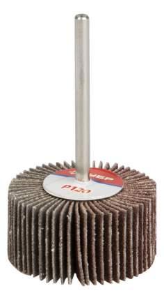 Диск лепестковый для угловых шлифмашин Зубр 36600-120