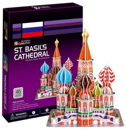 Пазл Cubic Fun 3D C707h Кубик фан Собор Василия Блаженного (Москва)