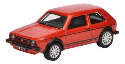 Автомобиль Schuco VW Golf I GTI red-black 1:87