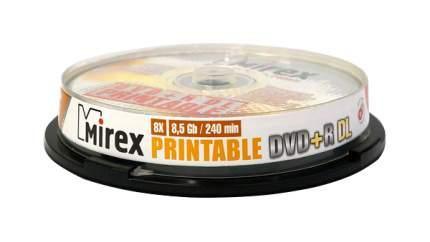 Диск для записи Mirex DVD+R, 8.5Gb, 8x, Cake Box 10 шт