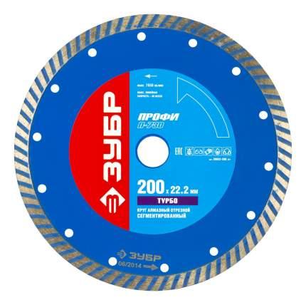 Отрезной диск по камню для угловых шлифмашин Зубр 36652-200_z01