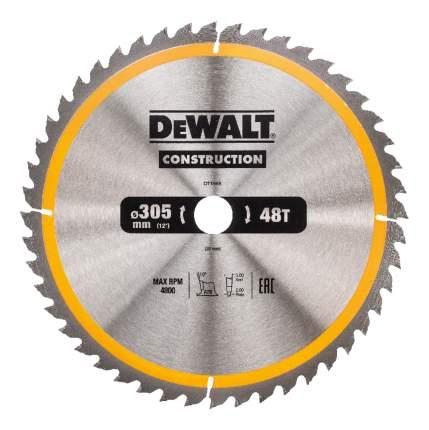 Диск по дереву для дисковых пил DeWALT DT1959-QZ