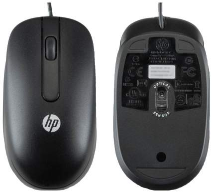 Проводная мышка HP QY778AA Black