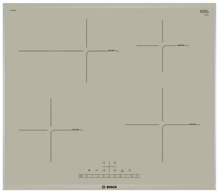 Встраиваемая варочная панель индукционная Bosch PIF673FB1E Beige
