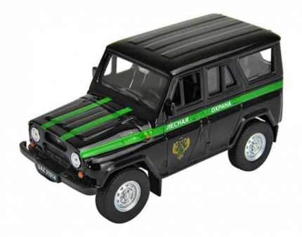 Коллекционная модель Welly УАЗ 31514 Лесная охрана 1:34