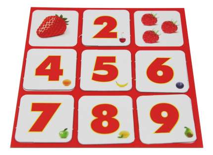 Настольная игра Лото «Цифры и фрукты 2»