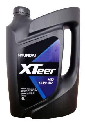 Моторное масло Hyundai XTeer Heavy Duty 15W-40 6л