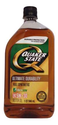 Моторное масло Quaker state Ultimate Durability SAE 5W-30 0,946л