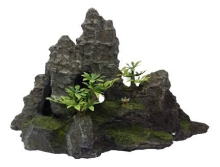 Грот для аквариума МЕЙДЖИНГ АКВАРИУМ Скалы, полиэфирная смола, 15,5х7х16 см
