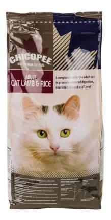Сухой корм для кошек Chicopee Adult, ягненок и рис, 2кг