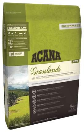 Сухой корм для кошек ACANA Regionals Grasslands, ягненок, индейка, утка, рыба, 1,8кг
